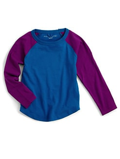 Stella McCartney Kids - Toddler's & Little Boy's Cotton Colorblock Raglan
