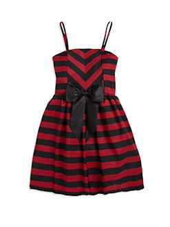ABS - Girl's Striped Bow Dress