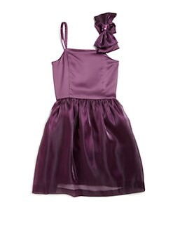 ABS - Girl's Bow Detail Dress