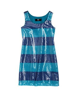 ABS - Girl's Jenny Sequin Tank Dress