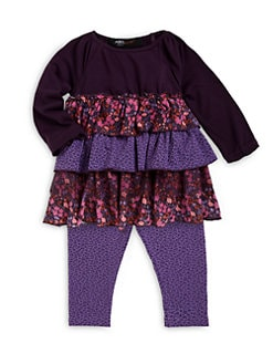 ABS - Infant Girl's Ruffled Set