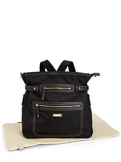 Storksak - Claire Nylon Convertible Backpack