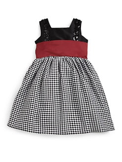 Noa Lily - Toddler's & Little Girl's Houndstooth Dress