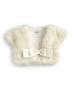 DKNY - Girl's Faux Fur Glamour Shrug