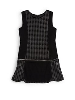 Laundry by Shelli Segal - Girl's Kathy Houndstooth Dress