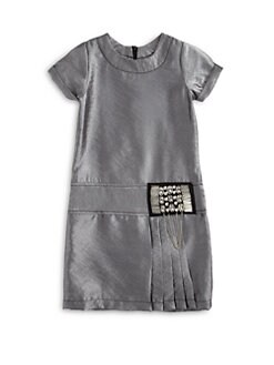 Laundry by Shelli Segal - Girl's Kelly Metallic Dress