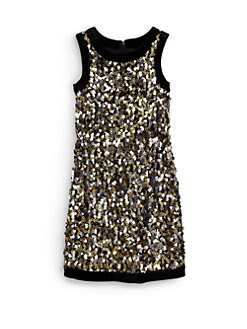Laundry by Shelli Segal - Girl's Trudy Sequin Dress