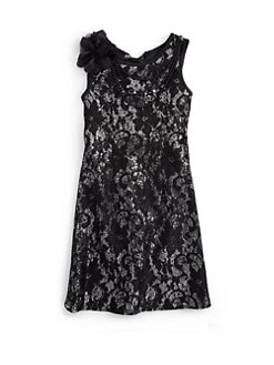 Laundry by Shelli Segal - Little Girl's Jessica Shimmer Jacquard Dress