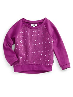 DKNY - Toddler's & Little Girl's Sequin Sweater