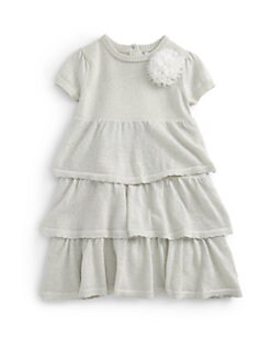 DKNY - Toddler's Shimmer Tiered Dress
