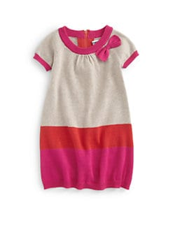 DKNY - Toddler's Cotton Colorblock Knit Dress