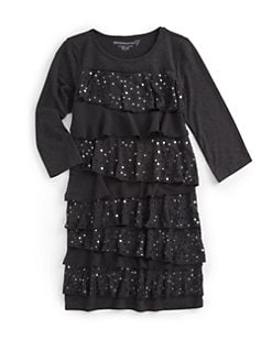 Design History - Girl's Tiered Sequin Dress