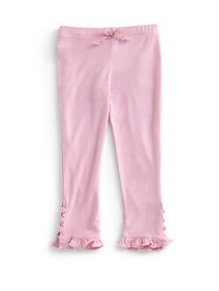 Design History - Toddler's & Little Girl's Ruffle Detail Pants