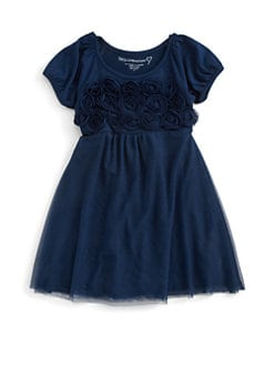 Design History - Toddler's & Little Girl's Rosette Dress