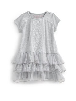 Design History - Toddler's & Little Girl's Drop-Waist Tiered Dress