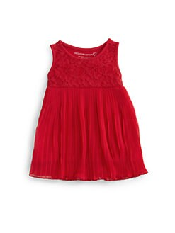 Design History - Infant's Lace Pleated Dress