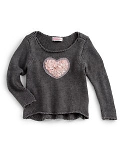 Design History - Infant's Heart Sweater