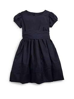 Isabel Garreton - Little Girl's Puff Sleeve Taffeta Dress