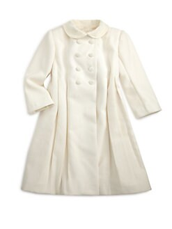 Isabel Garreton - Little Girl's Princess-Seamed Coat