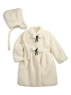 Isabel Garreton - Infant's Fleece Coat & Bonnet