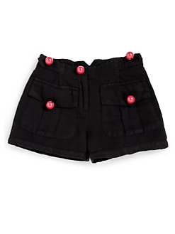 Sonia Rykiel Enfant - Girl's Cherry Button Shorts