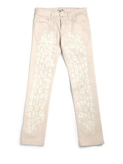 Roberto  Cavalli Angels - Girl's Leopard Appliqué Pants
