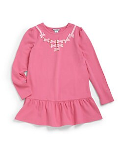 Hartstrings - Girl's Long Sleeve Bow Tunic