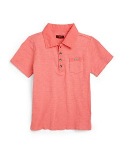 7 For All Mankind - Toddler's & Little Boy's Cotton Polo Shirt