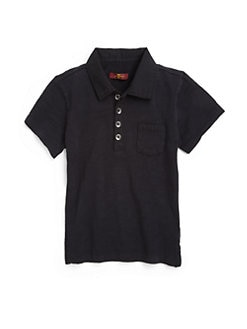 7 For All Mankind - Toddler's & Little Boy's Cotton Slub Knit Polo
