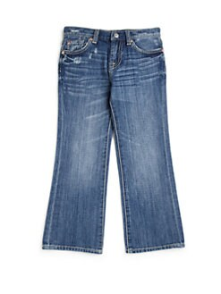 7 For All Mankind - Little Boy's Distressed Relaxed Fit Jeans