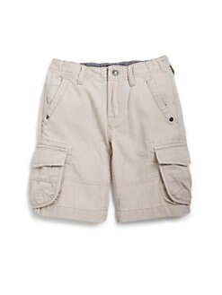 7 For All Mankind - Little Boy's Cotton Canvas Cargo Shorts