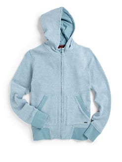 7 For All Mankind - Boy's Cotton Knit Hoodie