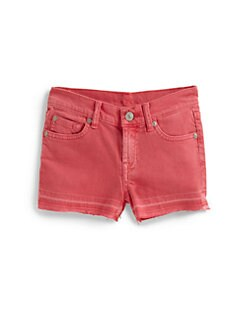 7 For All Mankind - Girl's Denim Shorts