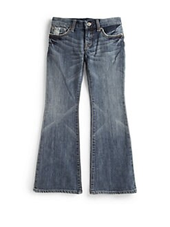 7 For All Mankind - Girl's A-Pocket Flare Denim Jeans