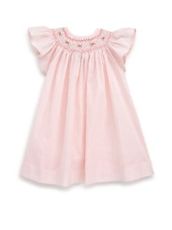 Isabel Garreton - Toddler's Cotton Flutter-Sleeve Striped Dress