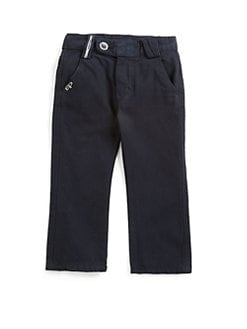 EDDIE PEN - Infant's Nik Cotton Pants/Navy