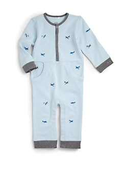 Petit Lem - Infant's Airplane Shortall