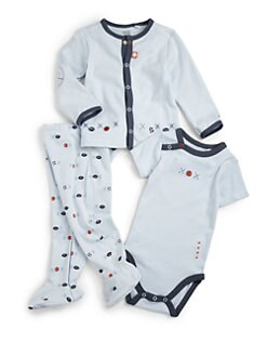Petit Lem - Infant's Cotton Sports Three-Piece Set