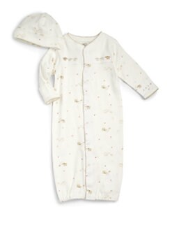 Petit Lem - Infant's Cotton Elephant Two-Piece Set