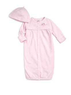 Petit Lem - Infant's Cotton Ballet Hearts Convertible Two-Piece Set