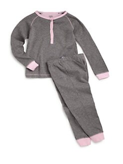 Petit Lem - Infant's Cotton Contrast Detail Two-Piece Set