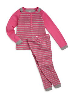 Petit Lem - Infant's Cotton Striped Two-Piece Set