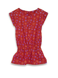 Isabel Garreton - Toddler's & Little Girl's Cotton Geometric Print Dress