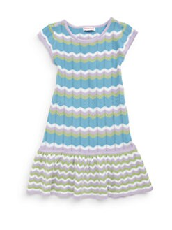 Design History - Girl's Chevron Knit Dress