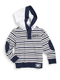 Woolrich - Toddler's & Little Boy's Cotton Stripe Hoodie