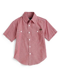 Woolrich - Toddler's & Little Boy's Cotton Button-Front Shirt