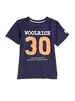 Woolrich - Toddler's & Little Boy's Cotton Tee