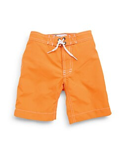 Trunks - Toddler's & Little Boy's Swami Swim Trunks/Orange