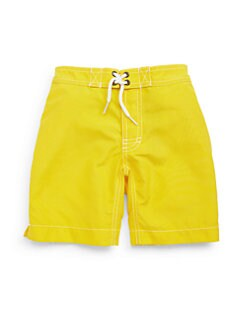 Trunks - Toddler's & Little Boy's Swami Swim Trunks/Yellow