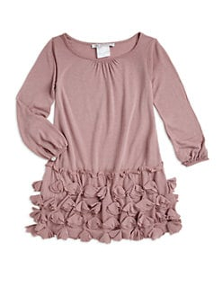Charabia - Toddler's & Little Girl's Ruffle Bottom Dress
